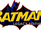 Batman:Legacy Edition