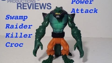 Elliot11/Batman Unlimited Swamp Raider Killer Croc Toy