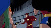 Wonder Woman Animated Back 3