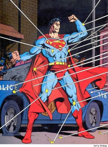 Superman jerry ordway