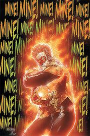 Hal Jordan as a Orange Lantern