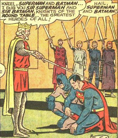 Arthur dub Superman and Batman