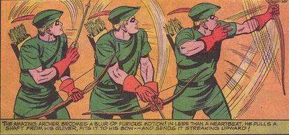Green Arrow Speed Draw JLA66