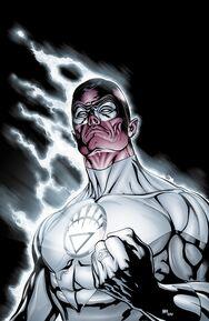 Sinestro como o lanterna branco