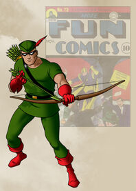 Goldenage greenarrow