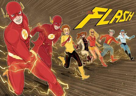 The flash family by fajarkurniawan-datiuvv