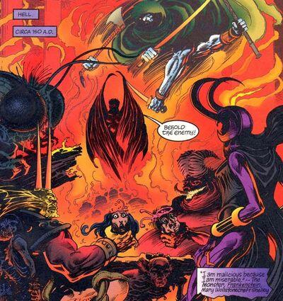 Spectre in hell
