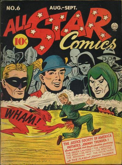 Johnny All-Star Comics 6
