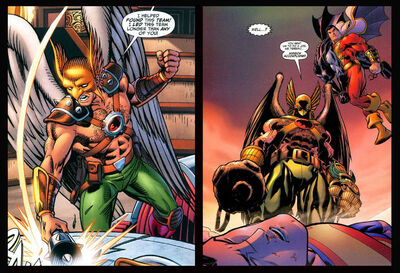 Hawkman-Mordern