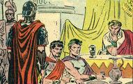Dc comics ancient rome golden gladiator