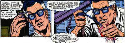 Superman hypersensitive touch