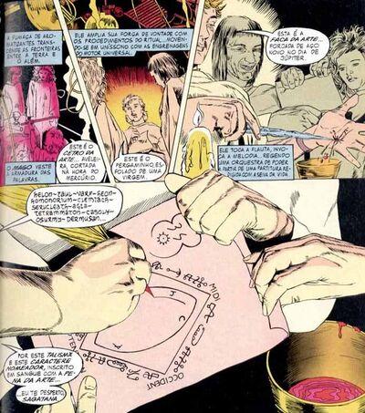 Constantine ritual sagatana