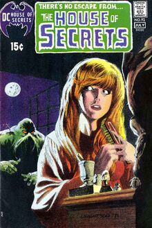 Alex Olsen Swamp Thing House of Secrets 92