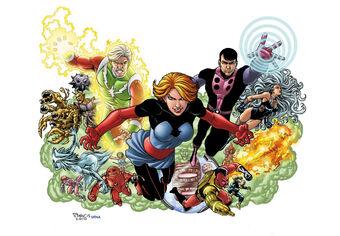 Legion of supervillains