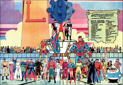 Bronze Age Legion of Super-Heroes