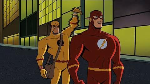 Jay Garrick conta pro Batman como Barry Allen morreu - DUBLADO PT-BR (HD)