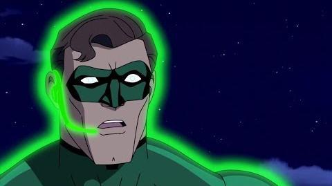 Hall Jordan vs Kilowog e Tomar-Re - Lanterna Verde Primeiro Vôo Dublado