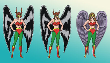 Hawkgirl evolution