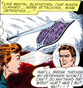 Captain comet radea telepathy mental combat
