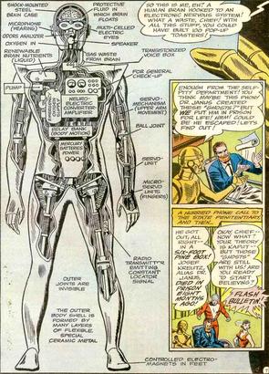Robotman cliff steele schematics