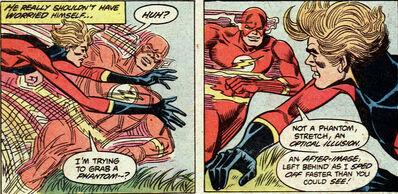 Flash afterimages