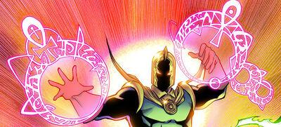 Dr Fate Magic Blast