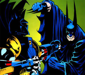 Azrael vs batman