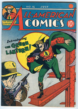 Alan Scott first
