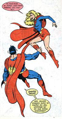 Supergirl matriz superman