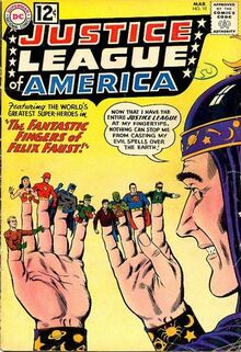 Justice League of America Vol 1 10 Felix Faust