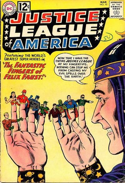 Justice League of America Vol 1 10 Felix Faust