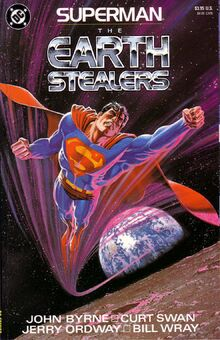 Superman theearthstealers