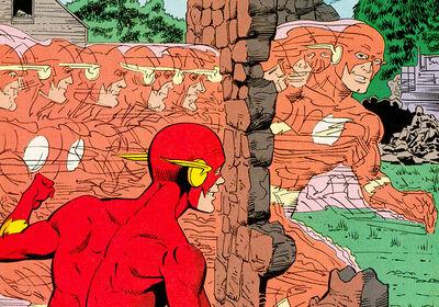 The-Flash through walls