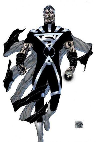 Black lantern superman super