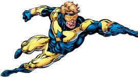 Booster Gold Gladiador Dourado