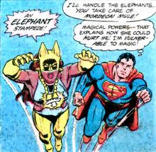 Action Comics 521 Vixen Superman