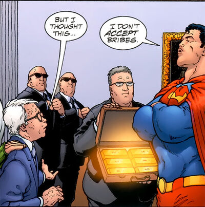Superman bribery qward