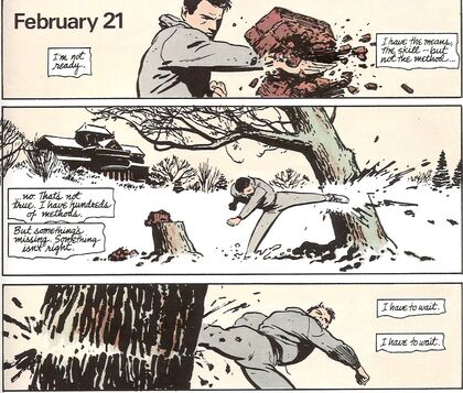 Batman year one breaking tree