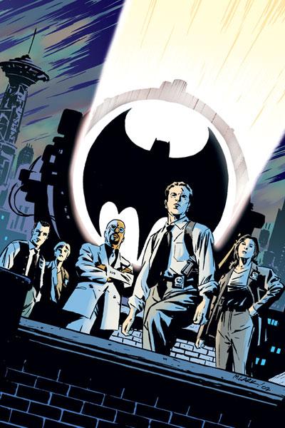 Gotham City Police Department 0001