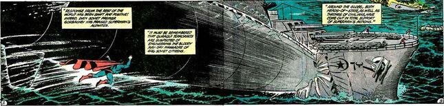 Superman qurac battleship