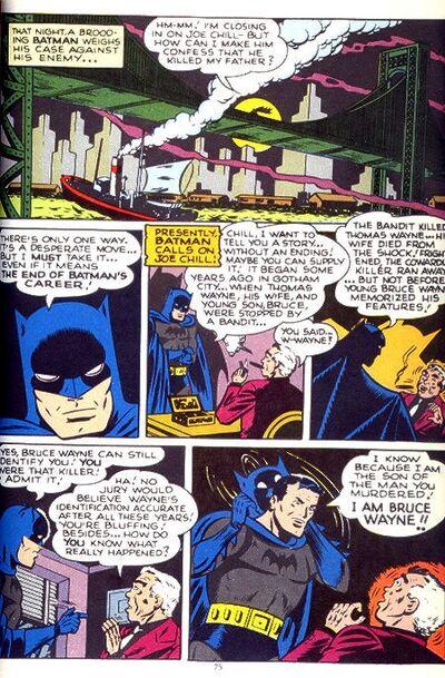 Batman e joe chill