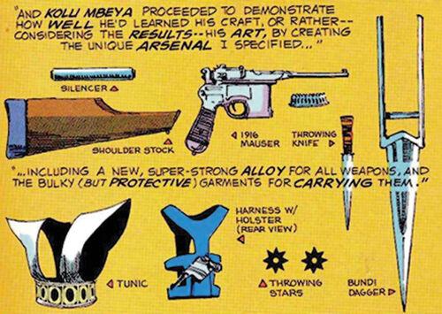 Manhunter arsenal