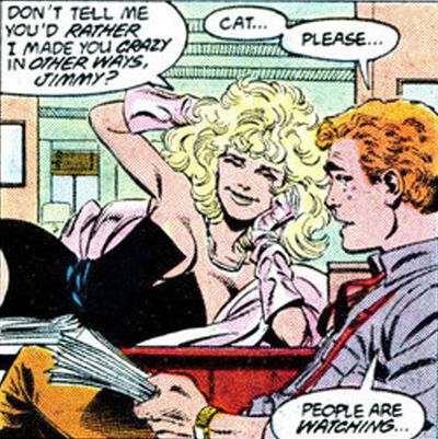 Cat grant jimmy olsen