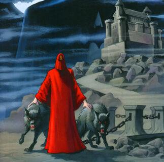 Mad monk batman