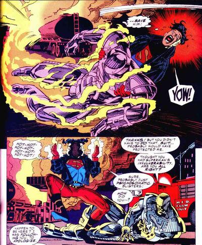 Superboy fire