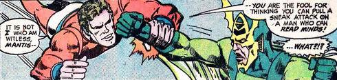 Cap comet mantis