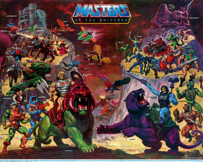 Masters of the universe wallpaper 1