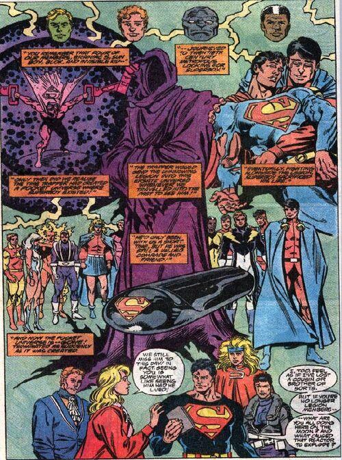 Flashback superboy death