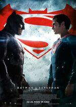 Batman v Superman Dawn of Justice Zweites deutsches Poster
