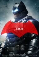 Batman v Superman - Dawn of Justice Charakterposter Batman